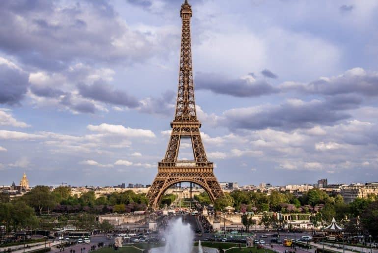 itineraire pour visiter paris la tour eiffel