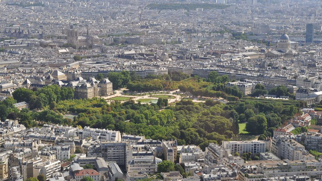 La vue depuis la Tour Montparnasse