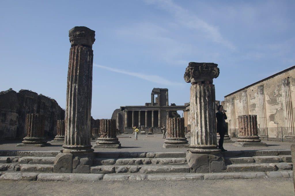 visiter pompei et le site