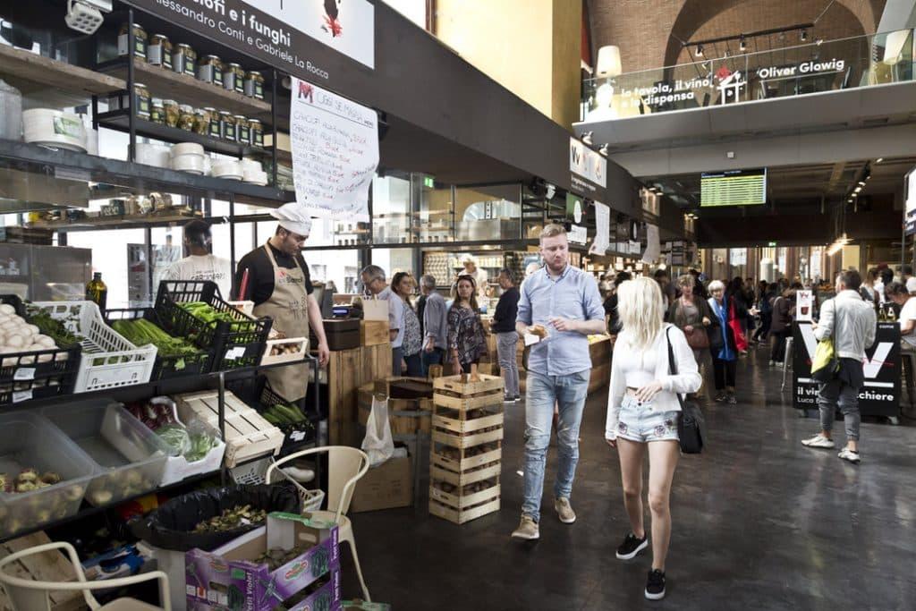 Allées du mercato Central à Rome