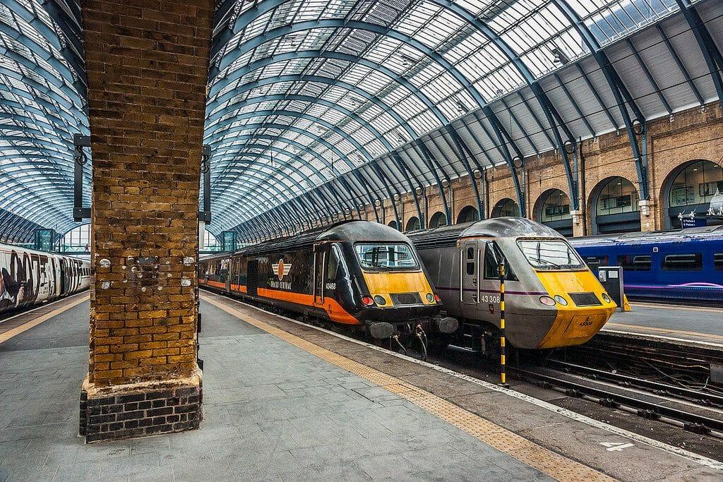 Les quais qui ont inspiré la gare de King Cross