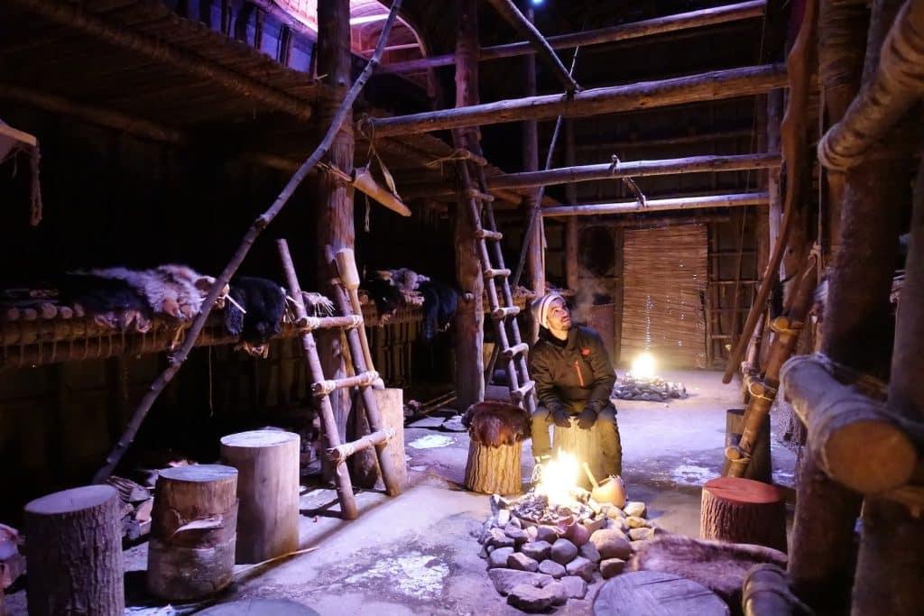 quebec en hiver Les premiers habitants du Quebec