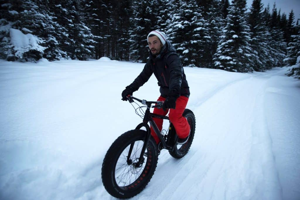 quebec en hiver parc jacques cartier fat bike