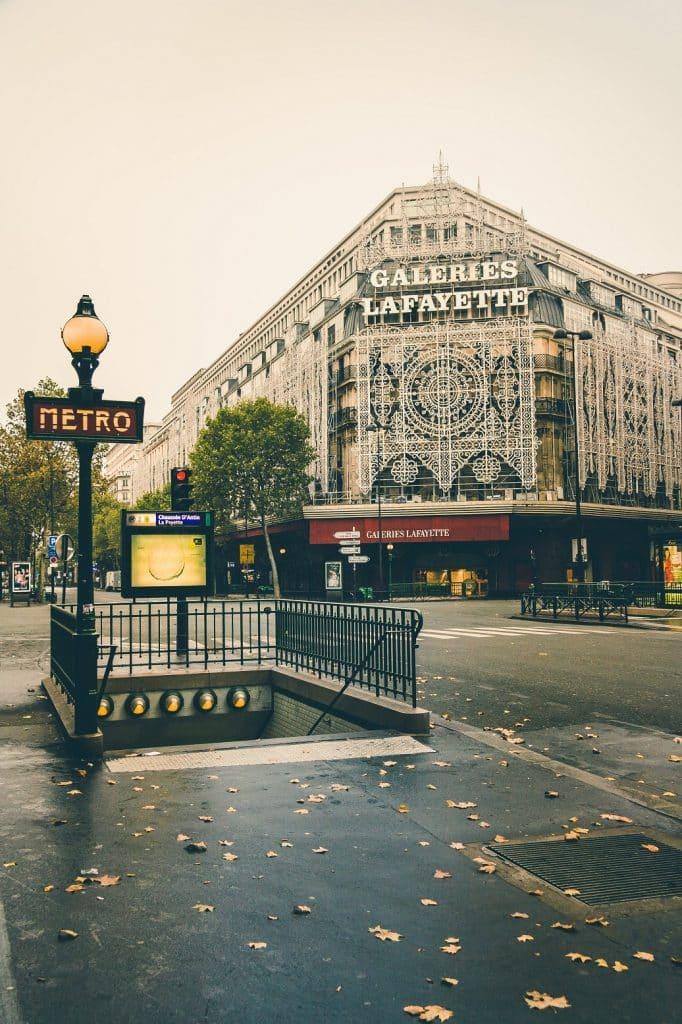 Ou dormir a Paris Galerie Lafayette