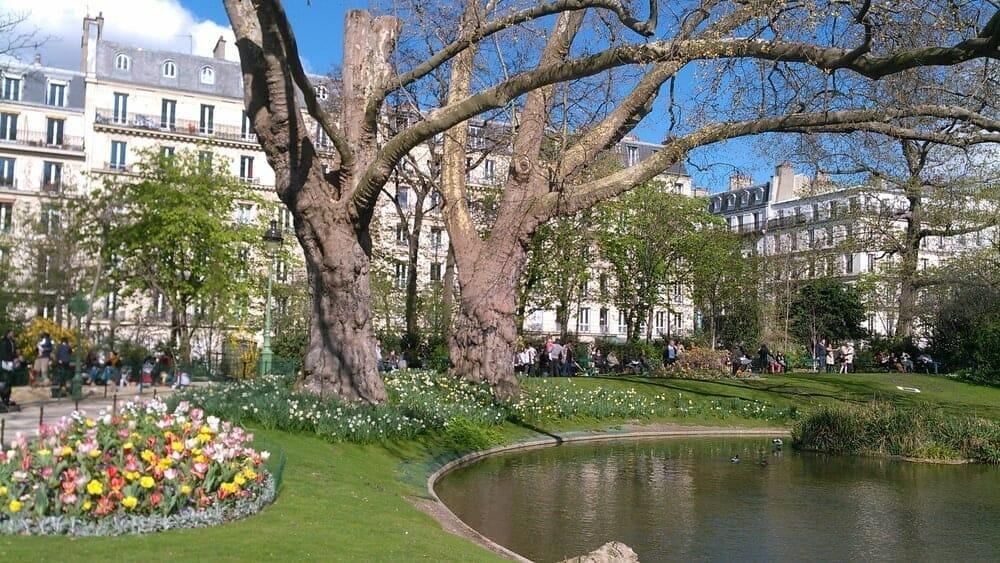 Ou dormir a Paris Square des Batignolles