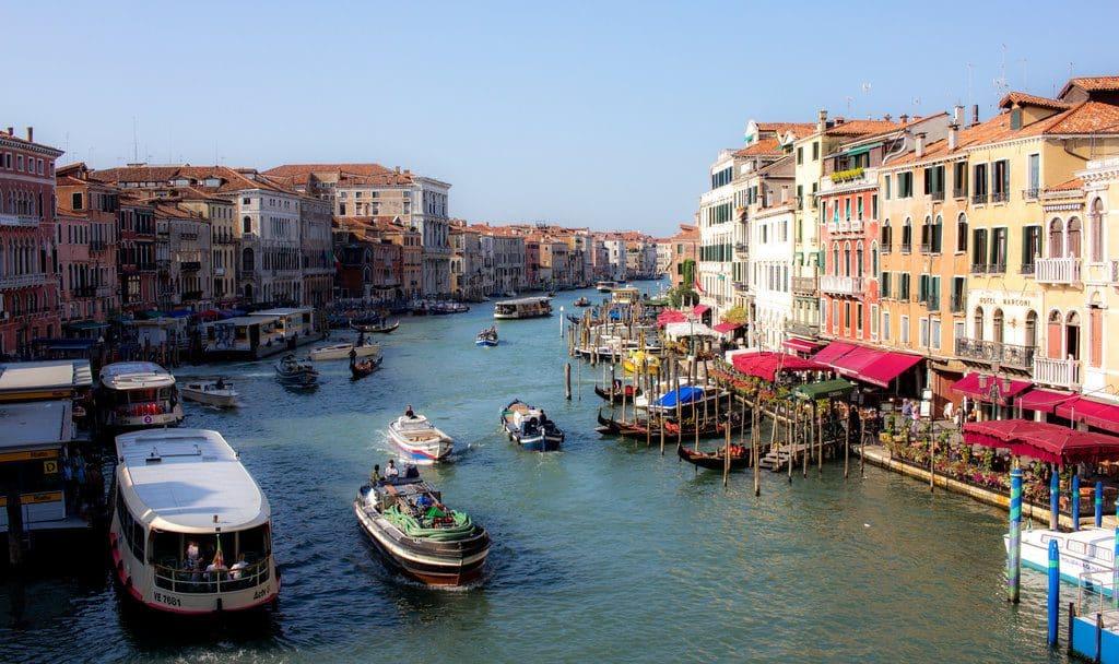 Les magnifiques canaux de Venise