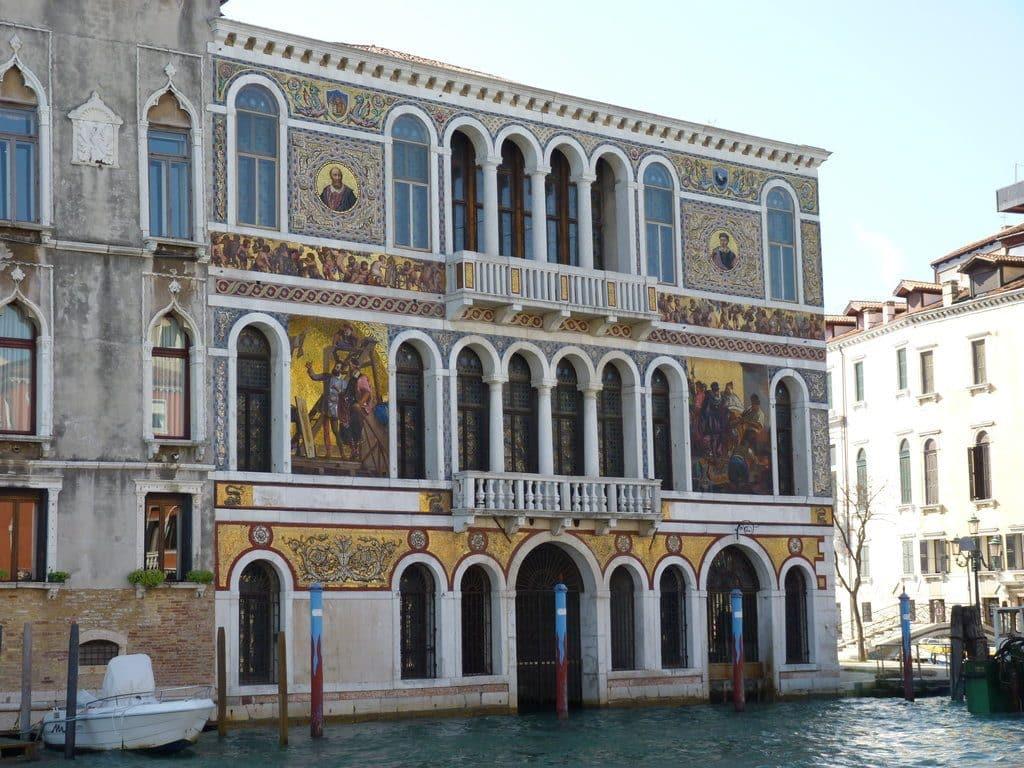 opera de venise facade palais Barbarigo