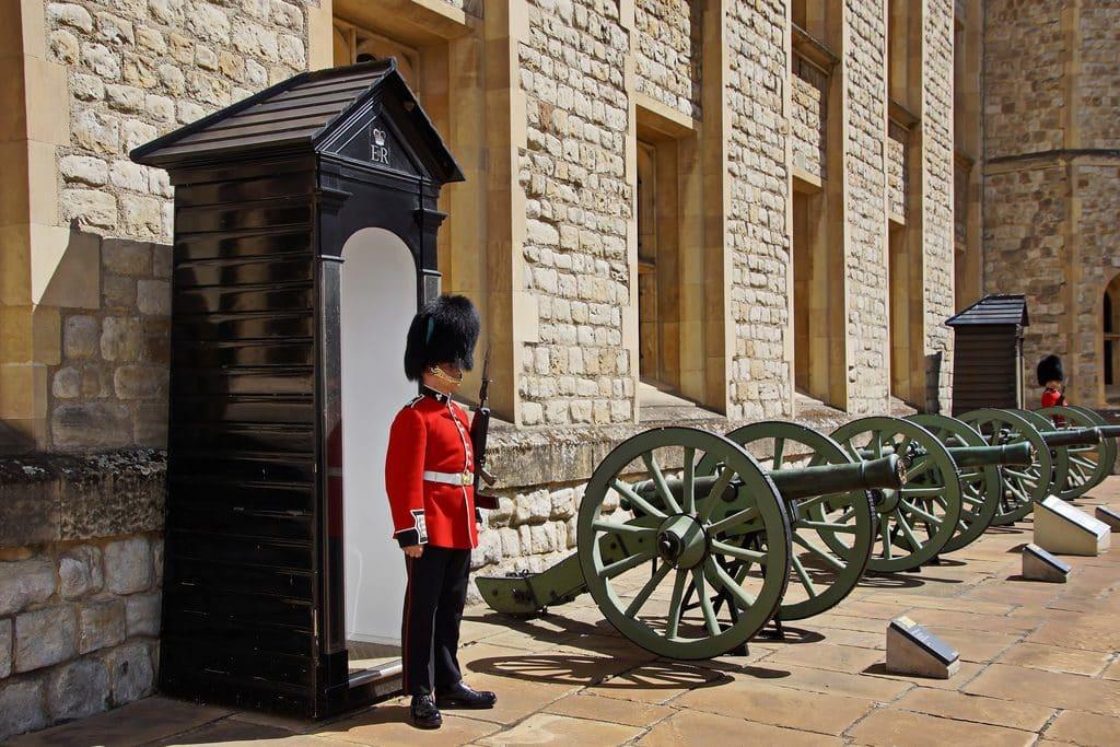 Garde Royale tour de londres