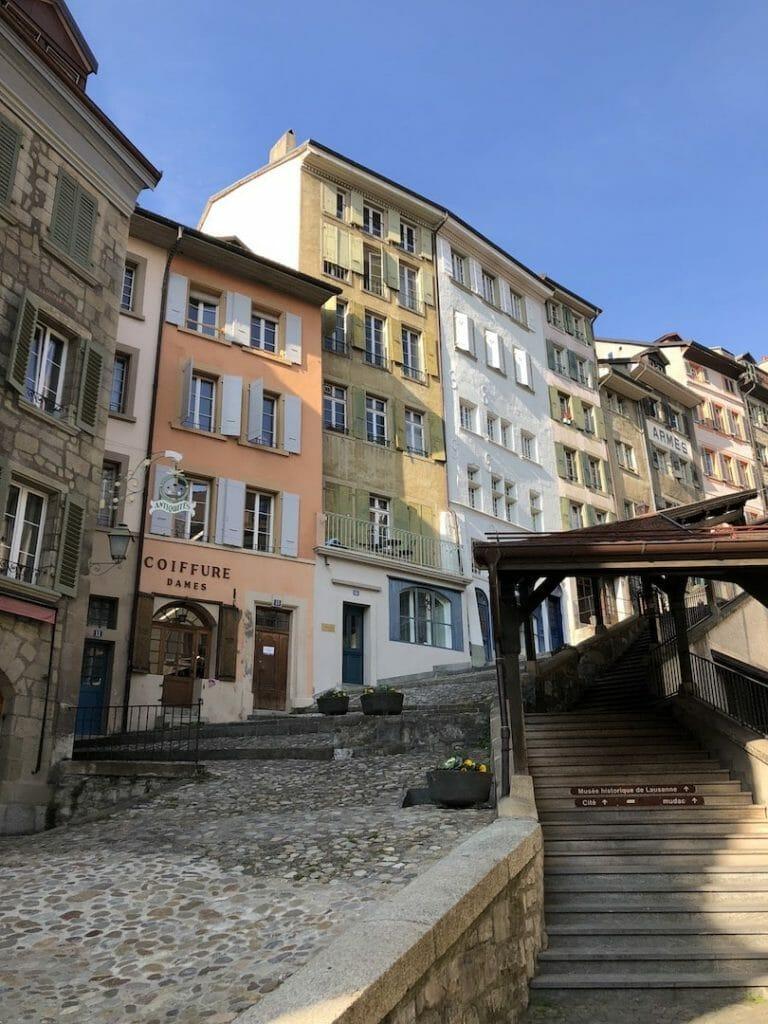 voyage en suisse place de Palud