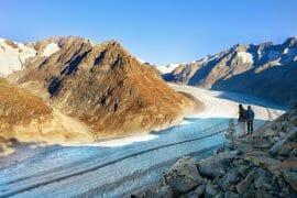 voyage en suisse glacier
