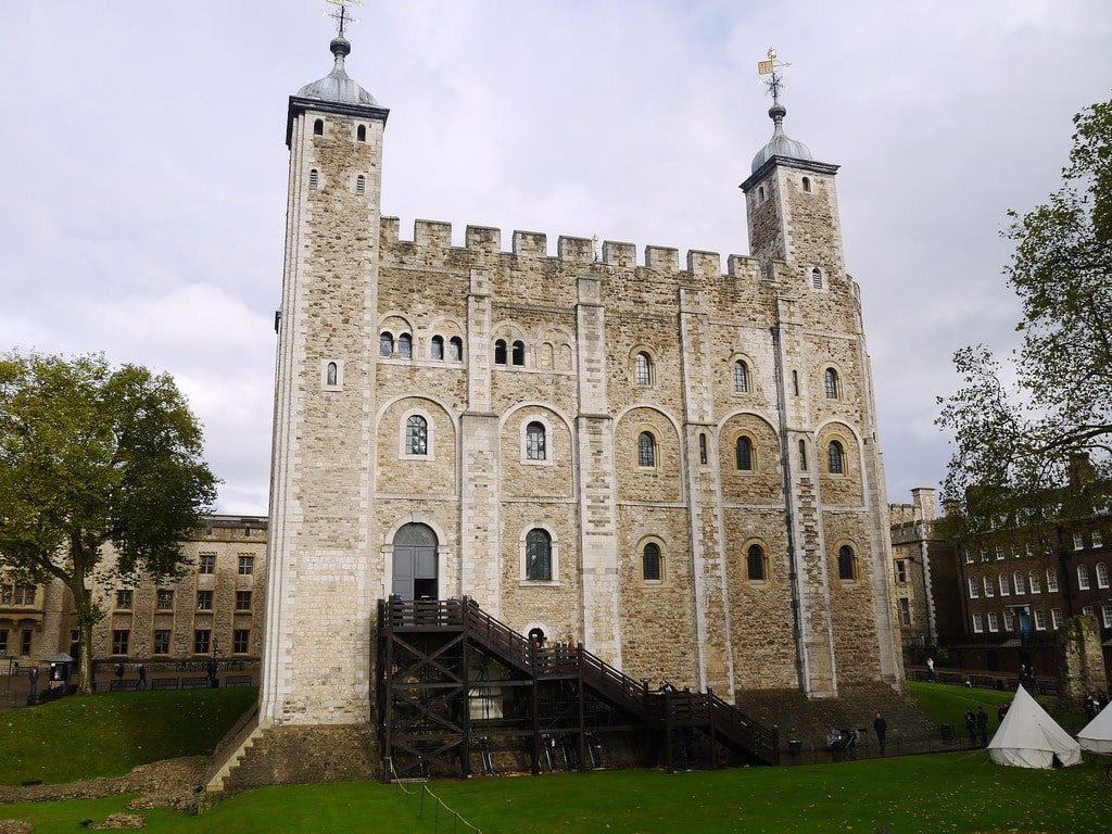 la tour blanche de la Tour de Londres