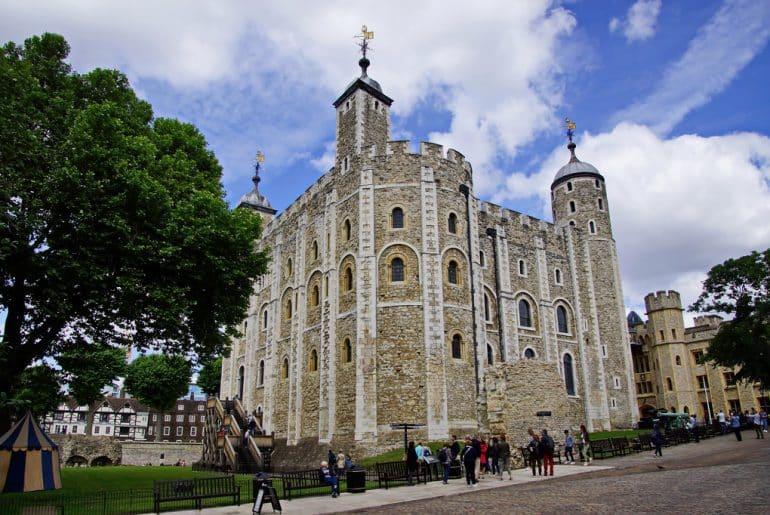 Visite de la tour de Londres