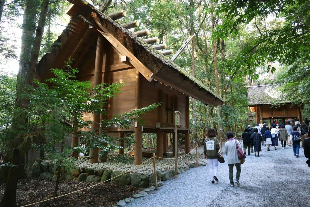 voyage au Japon sanctuaire d'Isé