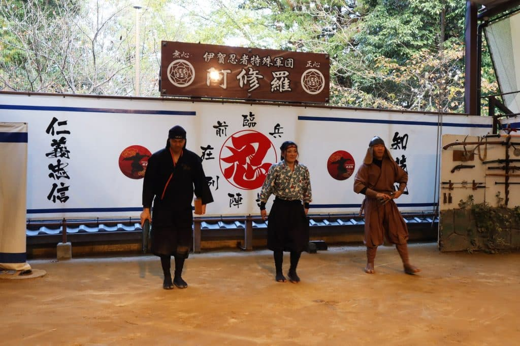 ninja show voyage au japon