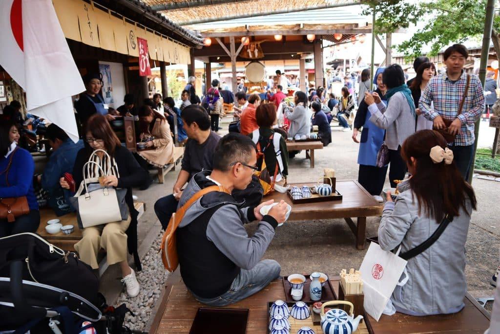 voyage au japon déjeuner Okage Yokocho