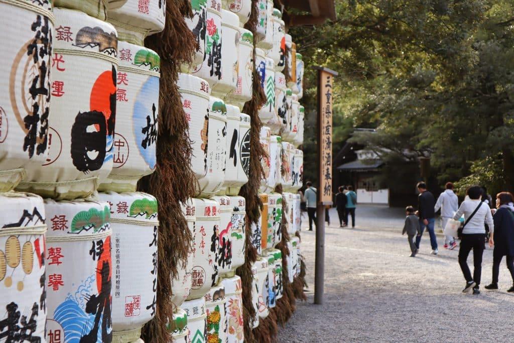 voyage au japon sanctuaire sacré