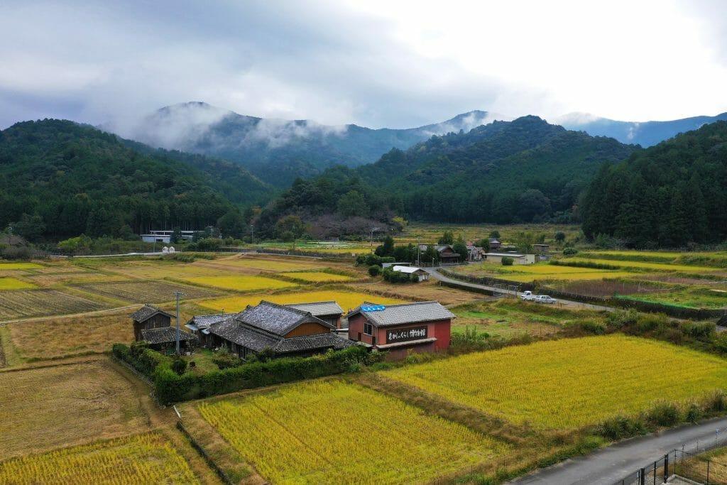 voyage au japon ferme typique