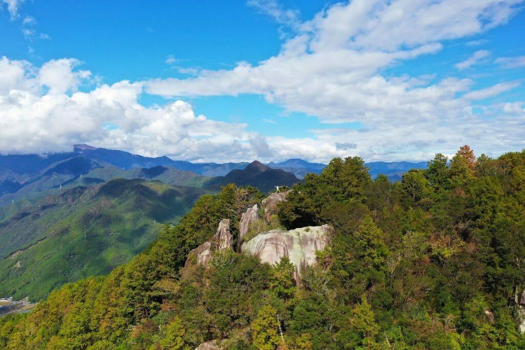 Voyage au Japon Mont Teruyana