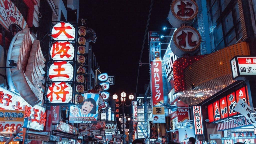 Voyage au Japon Dotombori Osaka