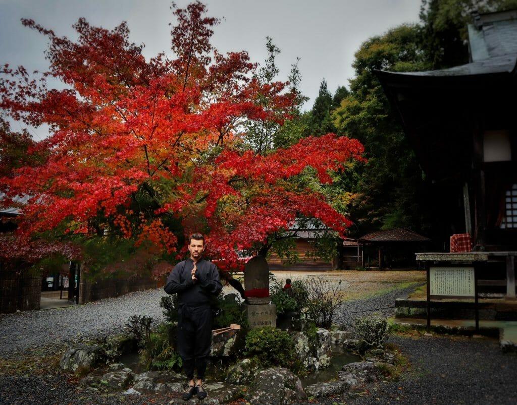 voyage au japon ninja