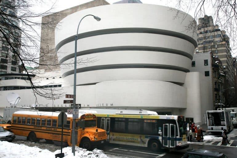 visiter musee guggenheim new york facade