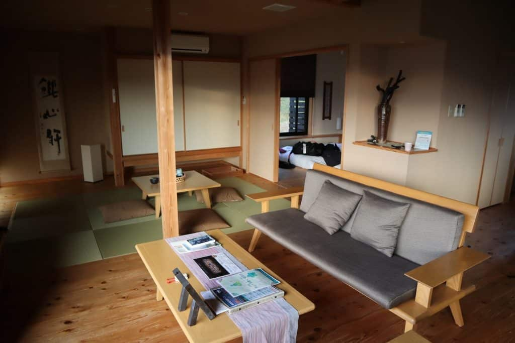 voyage au japon Ryokan