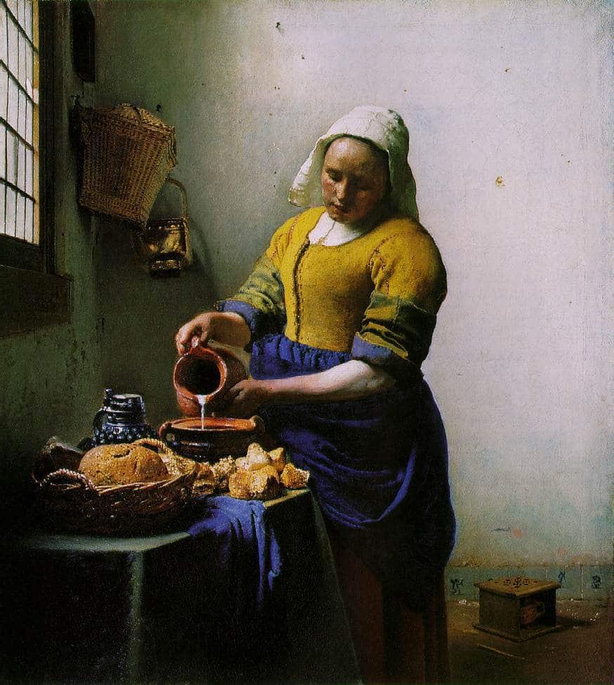 la laitiere vermeer visiter le rijksmuseum amsterdam