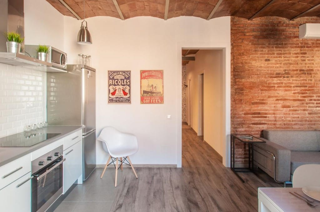logement barcelone appartement Poble Nou Design