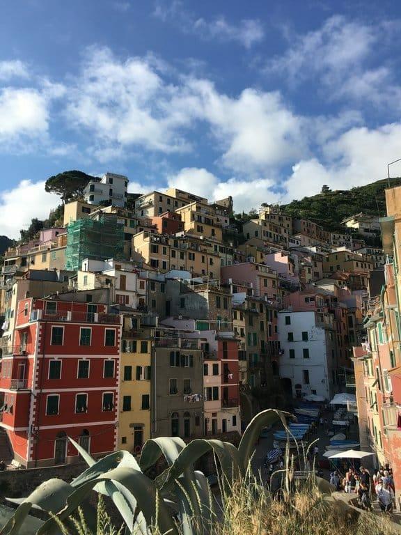 cinque terre maisons Riomaggiore