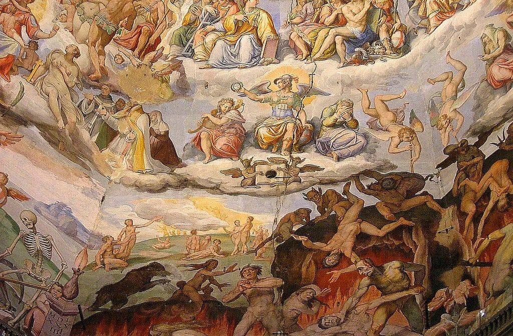 enfer et le jugement dernier Varasi