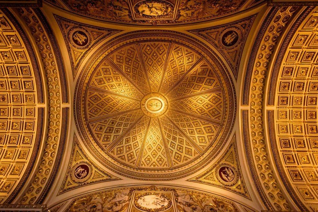 Galerie des Offices florence plafond