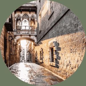 voyage barcelone barrio gotico