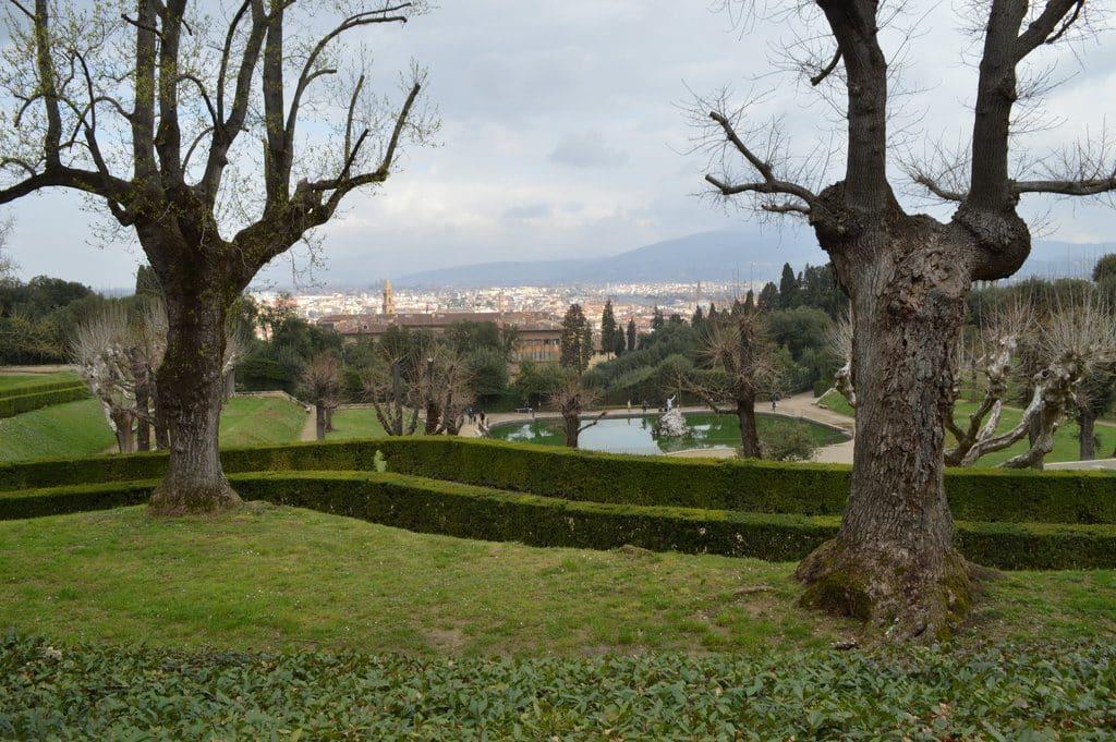 Florence et son beau jardin Boboli