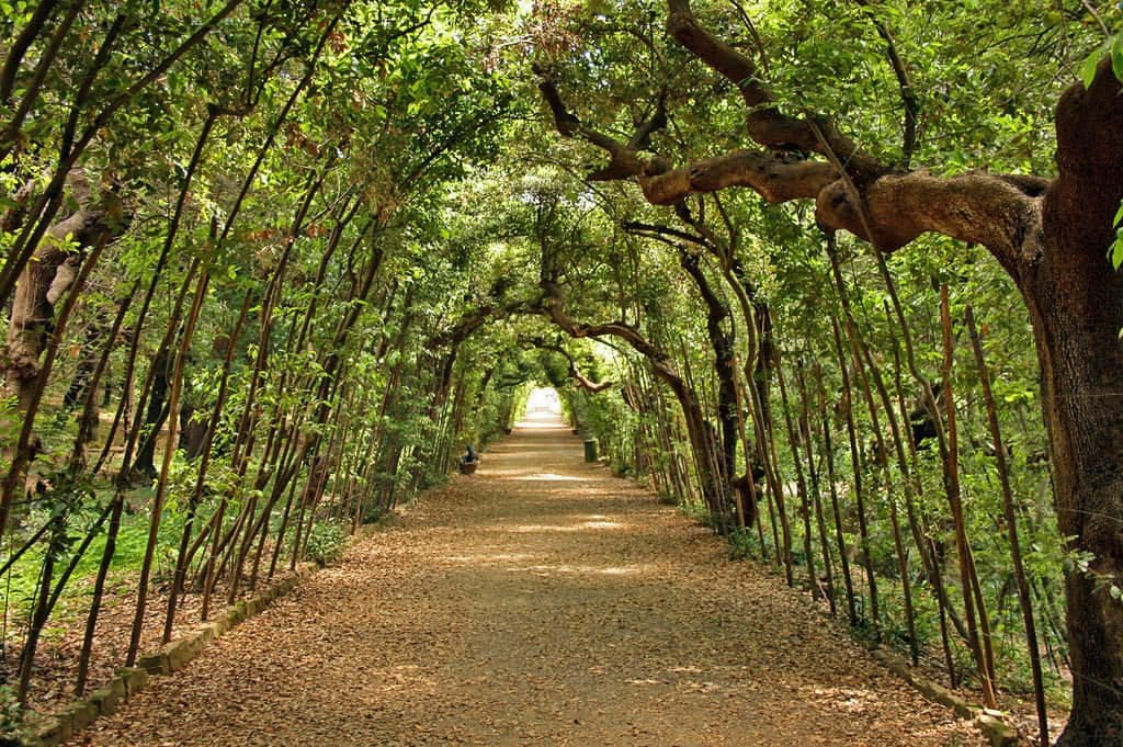 Balade jardin Boboli Florence