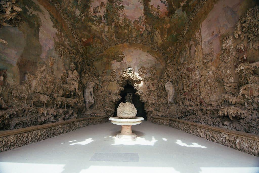 Fresque grotte jardin boboli