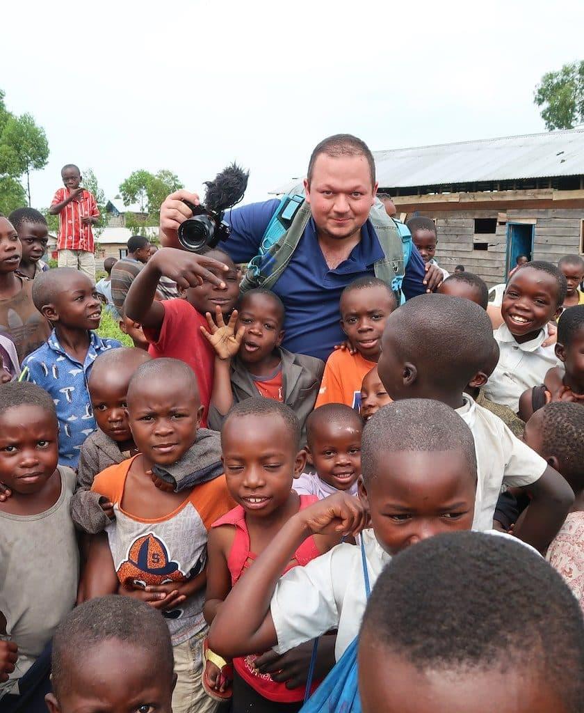 film tournage loris afrique
