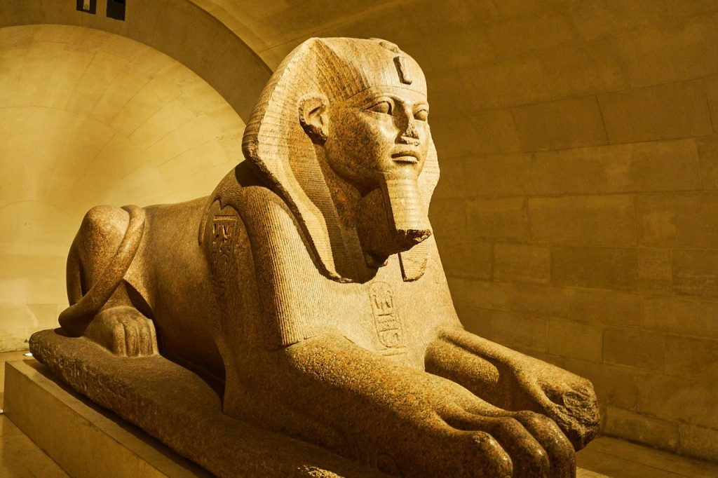 billet louvre paris sphinx egypte
