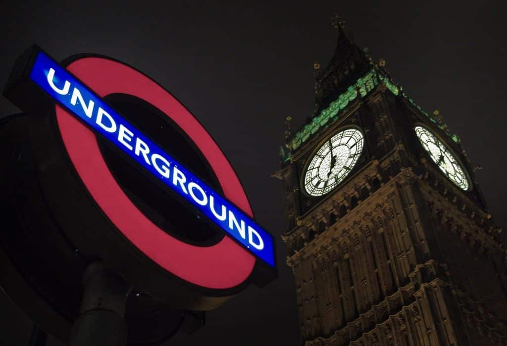 Métro Londres underground