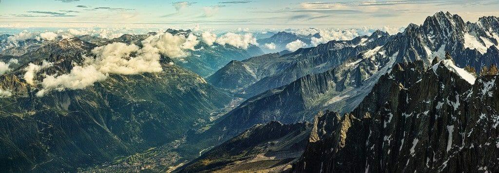 Panorama Alpes Chamonix