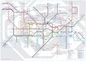 voyage londres plan metro