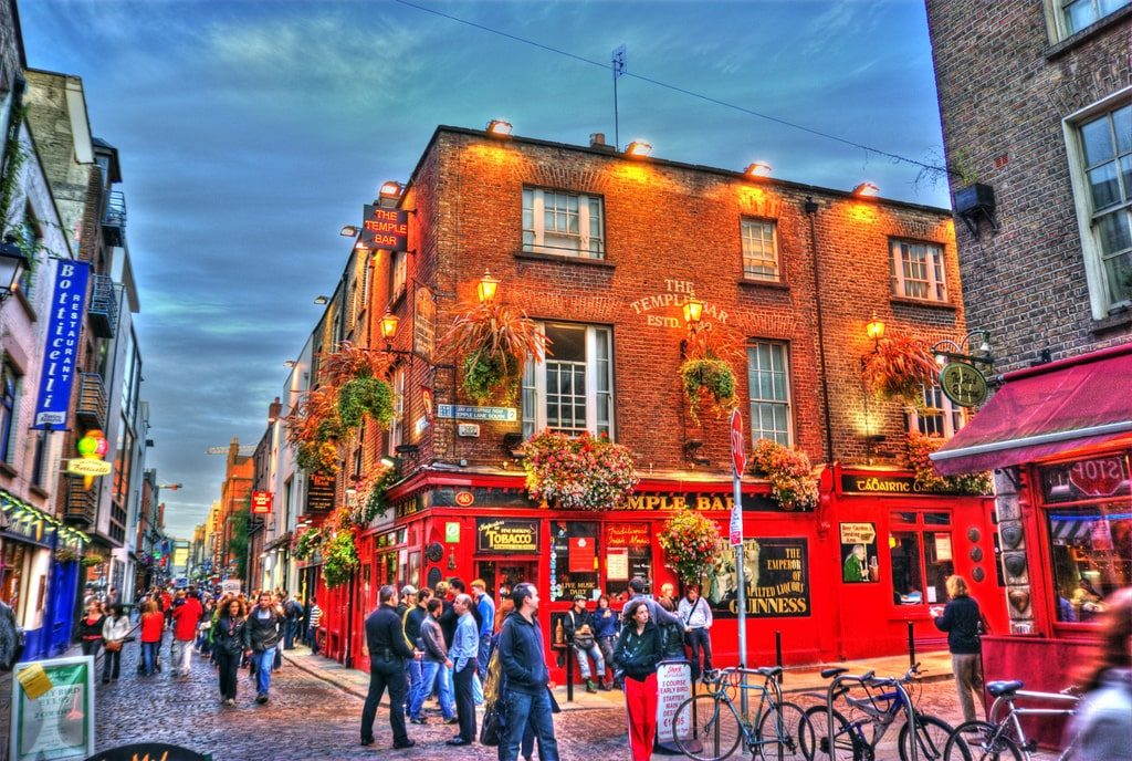 Temple Bar Nuit