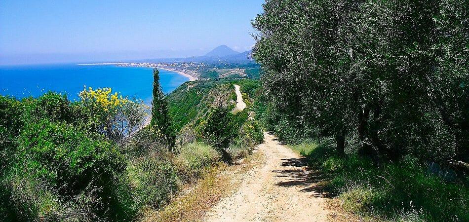 Corfou trail randonee