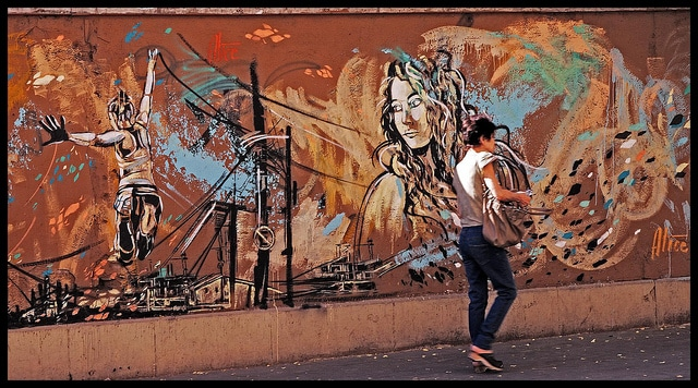 San Lorenzo street art
