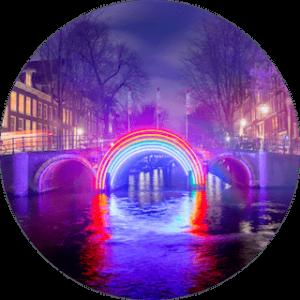 voyage amsterdam light festival