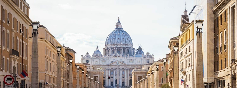 voyage a rome basilique st pierre