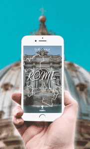 city guide rome gratuit version mobile vizeo
