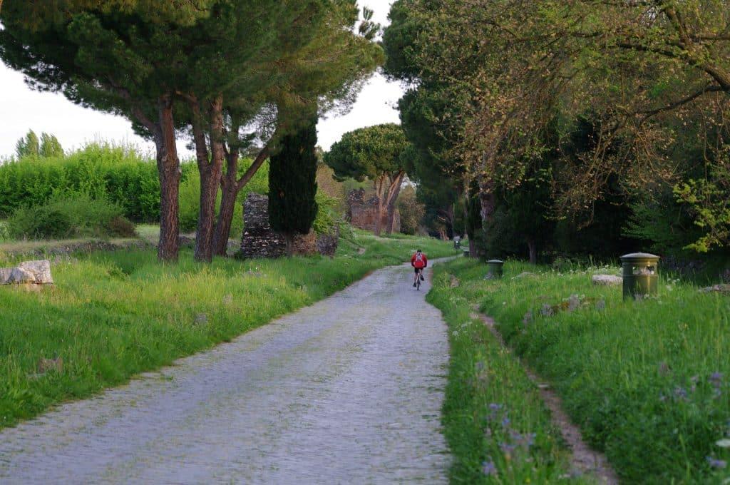 visite rome a vélo