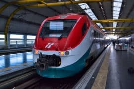 transfert aeroport_rome leonardo express train