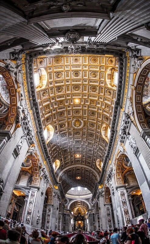 voyage rome basilique st pierre