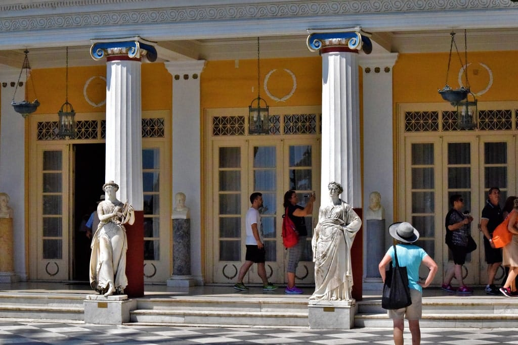 visiter corfou Palais de Sissi Achilleion
